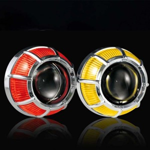 Dual angel eye devil eye 2.5inch 2.0inch bi-xenon projector lens Headlight Projector Lens Kit