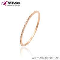 51305- xuping turkish style alloy rose gold stone bracelets and bangles in pakistan for women
