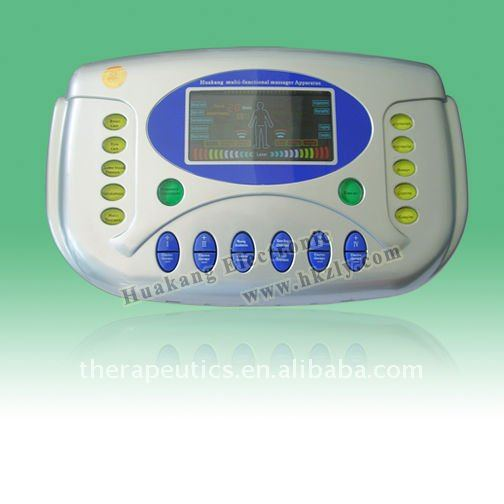 low frequency body massager with ultrasound and laser function(POPULAR)