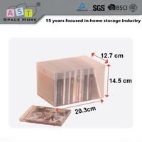 mytest CD/DVD storage box plastic