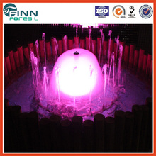 indoor garden or hotel use water decoration equipped controller rmini water fountain