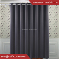 2016 hot sale 100% polyester blackout curtain fabric / upholstery / ome textile