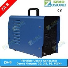 2g 3g 5g 6g CE approved portable ozone generator for laundry washing