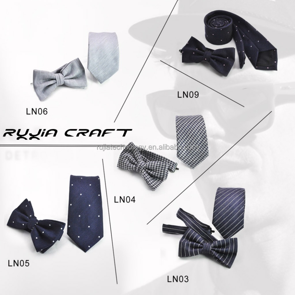 new style linen men bow ties & linen ties