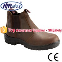 NMSAFETY genuine leather shoes upper for men/genuine leather shoe