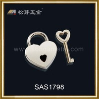 Song A metal beautiful decorative locks for jewelry box