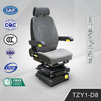Heavy Duty Hydraulic Truck driver Seats TZY1-D8(G) china manufacturer