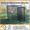 black color excrcise play pen for dog/small animal kennel cage