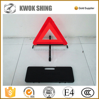 reflective portable traffic sign, folding traffic signs, car triangle warning sign