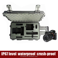 2015 new professional hard plastic waterproof photographic equipment camera case for nikon d3200