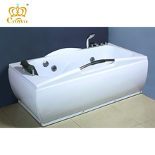 Hot sale new round acrylic bathtub,indoor whirlpool bathtub one person hot tub