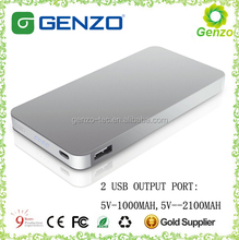 2104 best christmas gift power bank, universal portable power bank 8000mah, external power bank portable battery charger