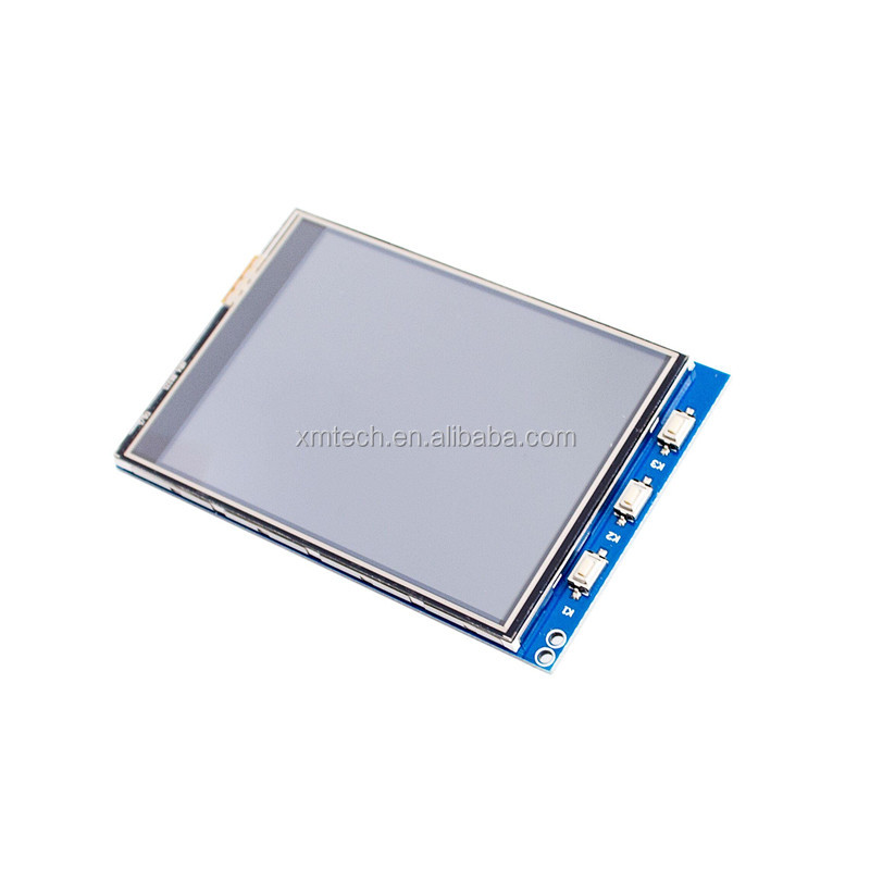Wholesale 1Pcs 3.2 Inch LCD Touch Screen Display Monitor Module For Raspberry Pi 3 B B+