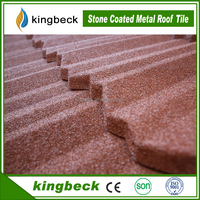 al-zinc construction material asphalt roof shingles colorful stone coated metal roof tile