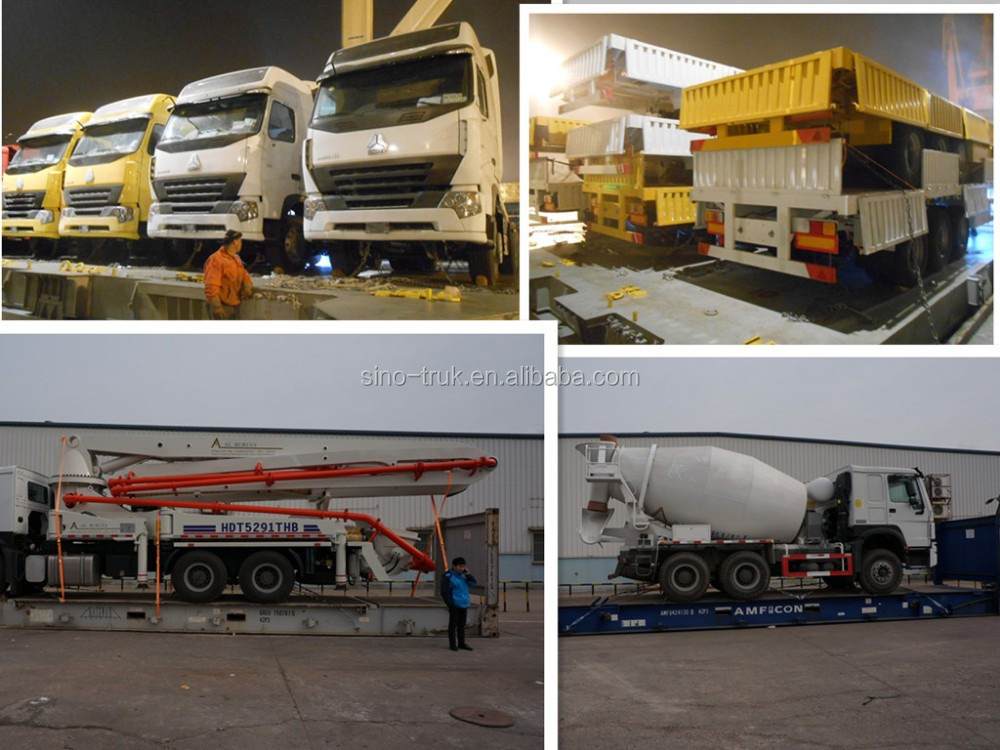 cement powder transport Three axle 55m3 Bulk cement tank semi trailer