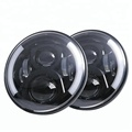 7 inch round led headlight led jeep headlight with DRL