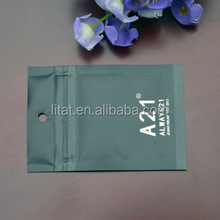 China hot sale plastic header bag packing with high quality