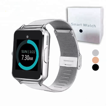 smart watch z60 stainless steel wireless smart watches support TF sim card for android IOS with retail package