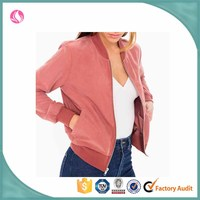ladies nylon flight short jacket,custom amelia jacket for women