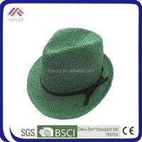 new style new york promotional straw hat men