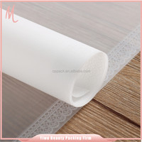 Yiwu factory wholesale OEM/ODM serivce translucent material opp colored plastic film