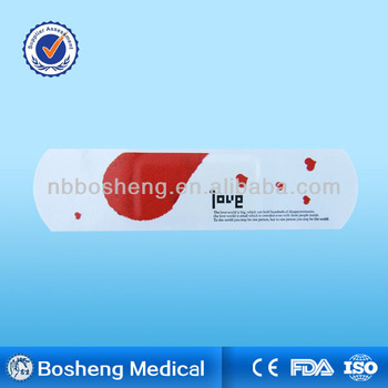 Cartoon waterproof medical adhesive wound plaster(CE/FDA/ISO)