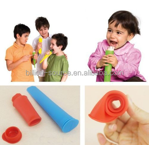 New products 2016 innovative product silicone ice cream bar molds