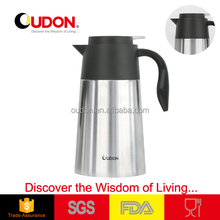 1.6L stainless steel vacuum sealed padded container thermos coffee pot