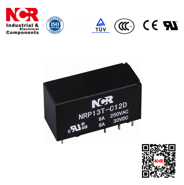 8A Mini PCB Relay/Electric Relay 12V 8A (NRP13T)