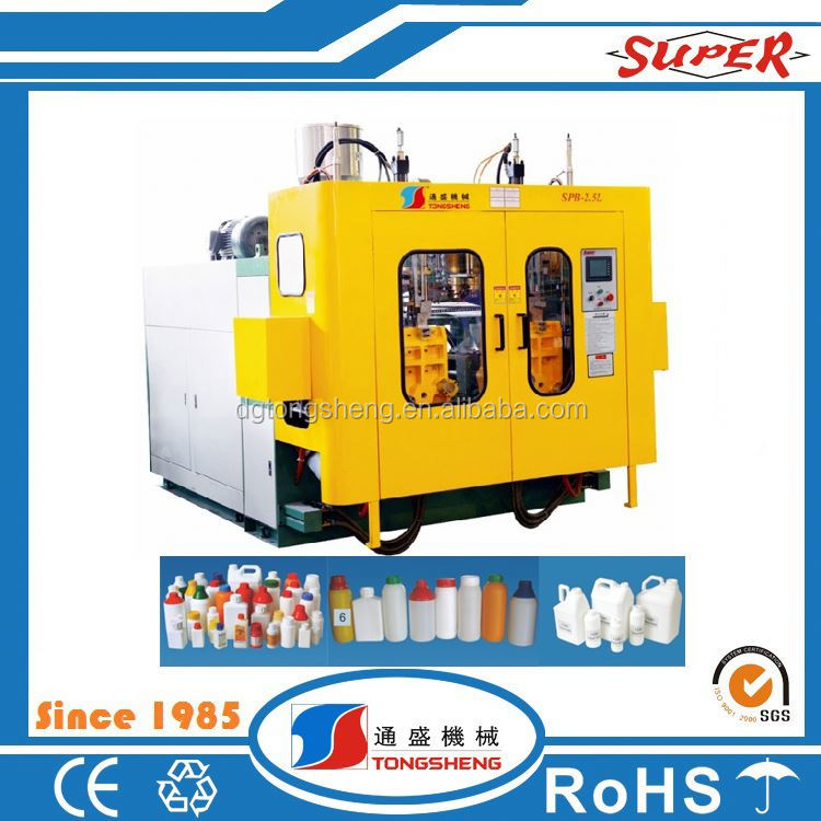 Automatic 5 gallon plastic water bottles blow moulding machines