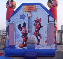 mickey mouse and minnie mouse inflatable bouncer for sale