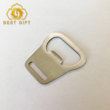 Hot Sell Metal Beer Bottle Opener Parts For Lanyard Clip
