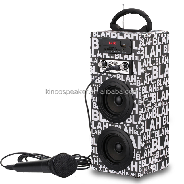 china factory direct sale bass speaker with radio speakers
