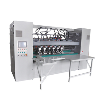 Electrical Control Thin Blade Slitter Scorer for corrugated cardboard production line