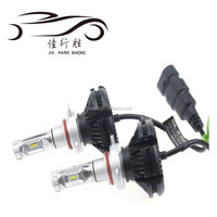 Super bright X3 LED Headlight H1 H4 H7 H11 9004 9007 9005 9006 LED Headlight