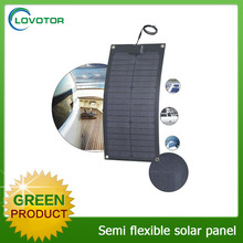 Hot sale 22% high efficiency ETFE flexible solar panel mono semi flexible solar panel 20 watt flexible solar panel china