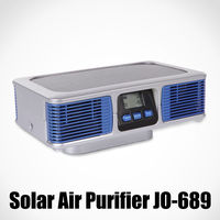 latest innovative solar products with dual aroma diffuser (home air purifier JO-689)