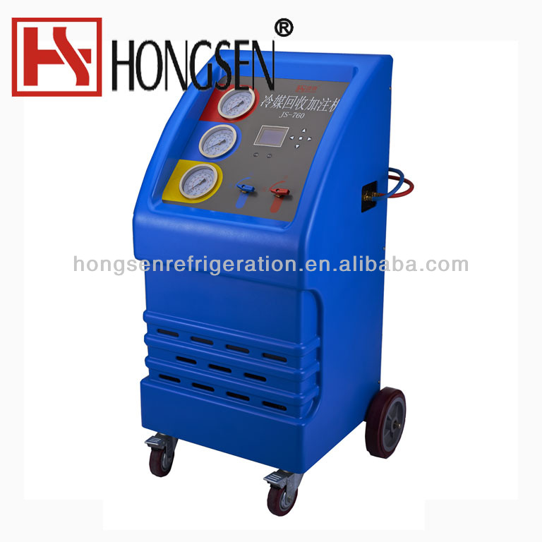 Automatic Refrigerant Recovery,Recycling Charging Unit