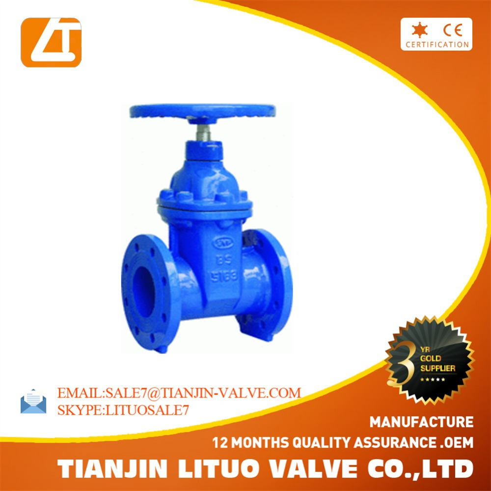 fire gate valve/Water Brake Valve/Gate Valve long neck valve