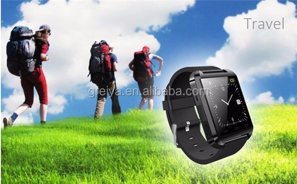 Greia High quality pedometer fitness tracker watch WiFi LBS GPS tracking GPS kids smart watch U8