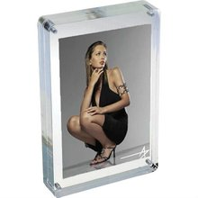 Cube Acrylic Magnetic Funia Photo 5x7 clear acrylic frames