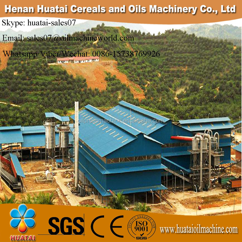 2017 Factory Self Design Palm Oil Mill and Palm Oil Machine and Palm Oil Processing Machine From China Huatai Biggest Factory