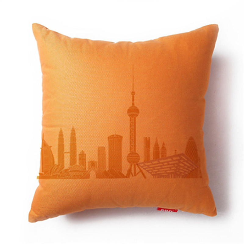 micro polyester suede cushion