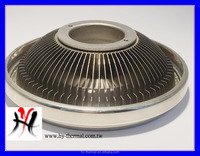 LED Extruded aluminium profile heat sink AR111 alloy circular