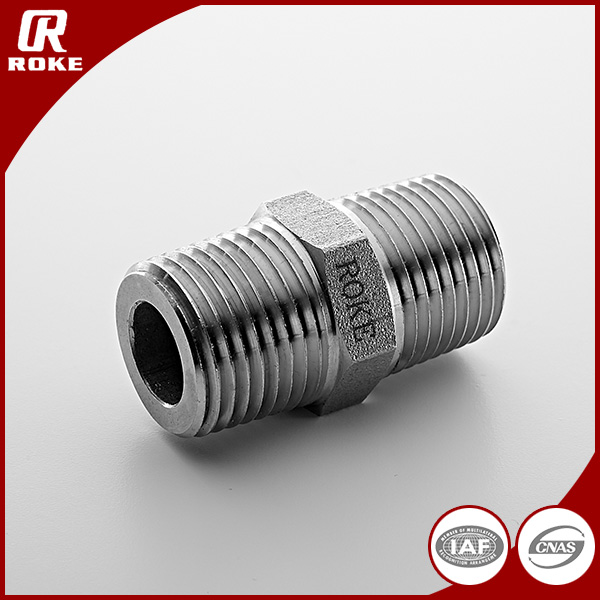 High quality male / female threaded union connector pipe fitting