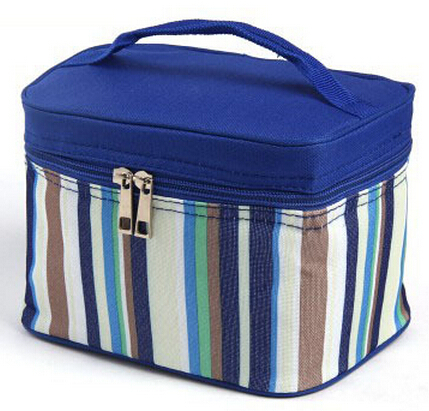 Waterproof PEVA Lining Oxford Lunch Box Food Use Cool Bag Picnic Bag