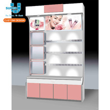 glass revolving display cabinet,perfume display cabinet,boutique display cabinet