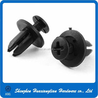 Different types of plastic fasteners for cars with good quality