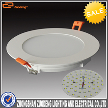 3 year warranty 100lm per wattage round led panel light price, round recessed ceiling led panel light