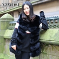 CX-G-B-04B China Factory Directly Sales Female Elegant Real Fox Fur Vest